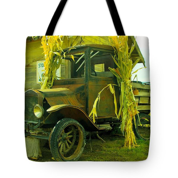 Old Model T  Tote Bag by Jeff Swan
