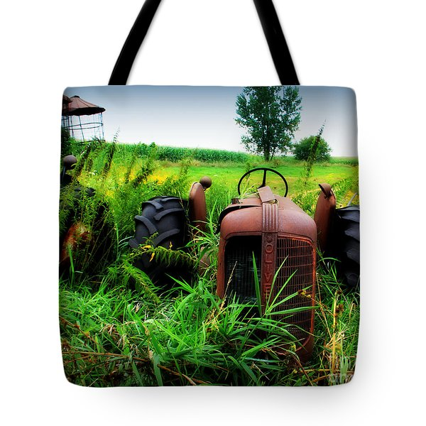 Old Oliver Tote Bag by Perry Webster