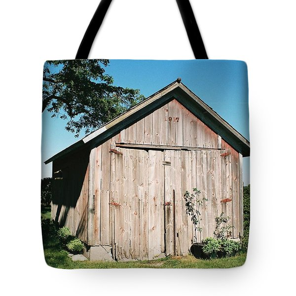 Old Shed Tote Bag by Lauri Novak