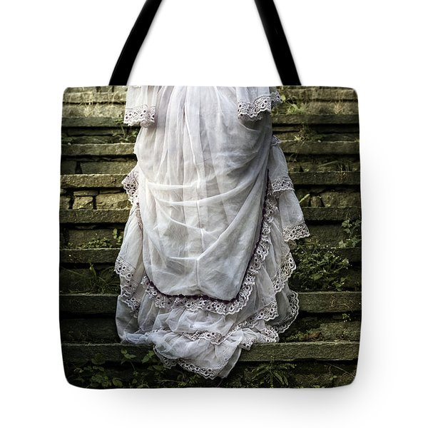 Old Stone Stairs Tote Bag by Joana Kruse
