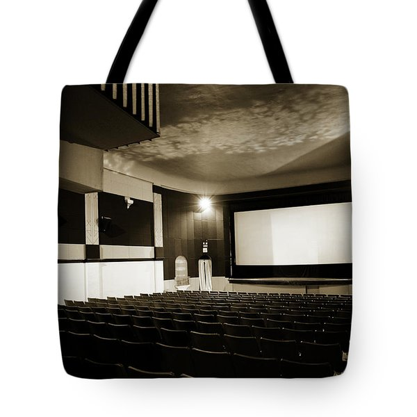 Old theater 2 Tote Bag by Marilyn Hunt