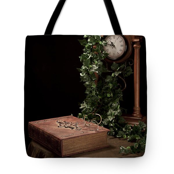 Old Tome I Tote Bag by Tom Mc Nemar