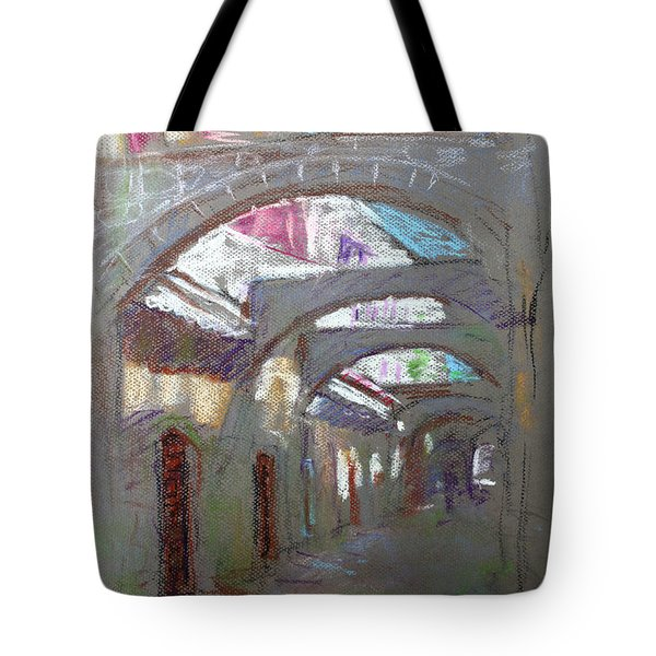 Old Town in Rhodes  Greece Tote Bag by Ylli Haruni