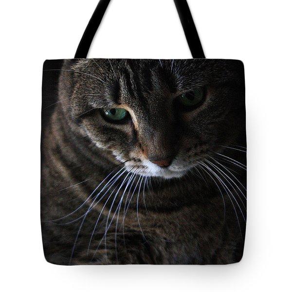 Ole Green Eyes Tote Bag by Joe Kozlowski