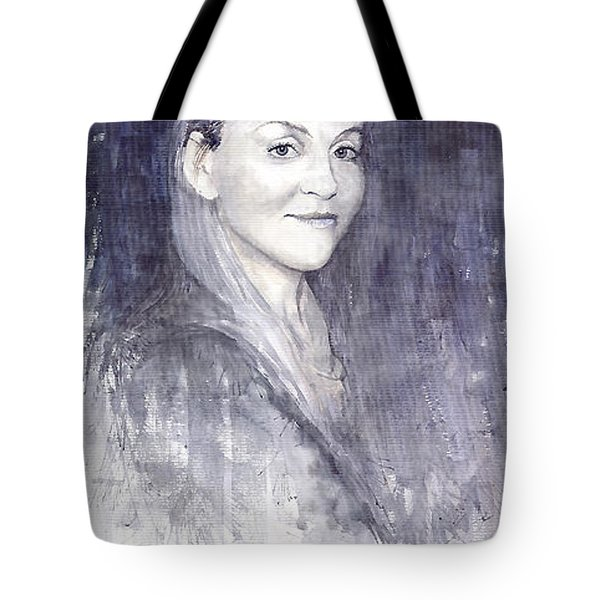 Olga Tote Bag by Yuriy  Shevchuk