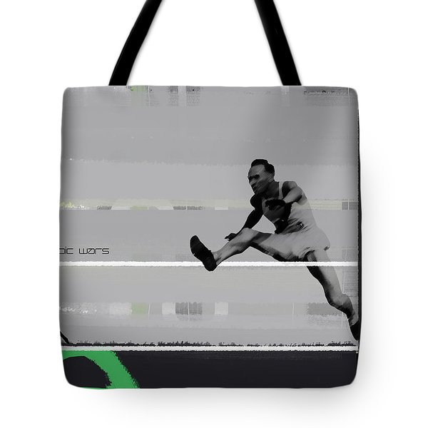Olympic Wars Tote Bag by Naxart Studio