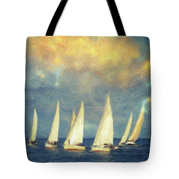 On A Day Like Today  Tote Bag by Taylan Soyturk