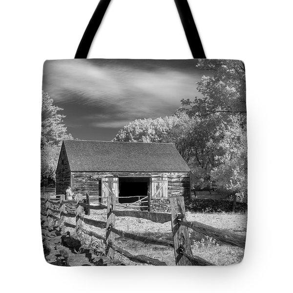 On the farm Tote Bag by Joann Vitali