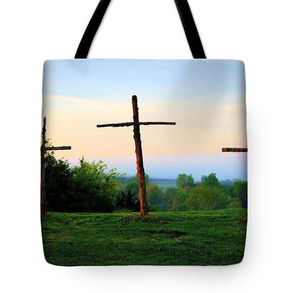 On The Hill Tote Bag by Cricket Hackmann