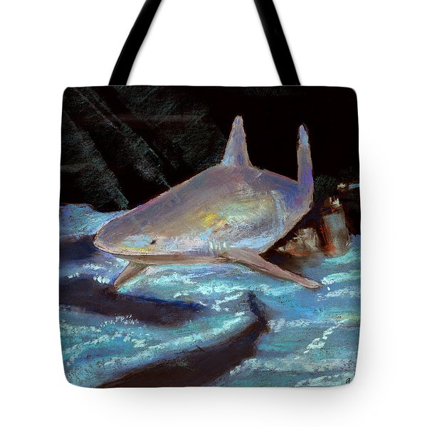 On The Prowl Tote Bag by Arline Wagner
