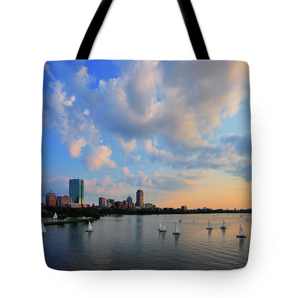 On The River Tote Bag by Rick Berk