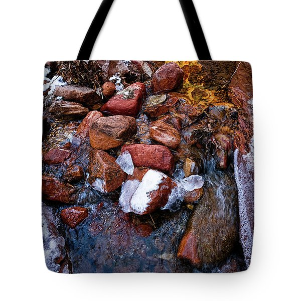 On The Rocks Tote Bag by Christopher Holmes