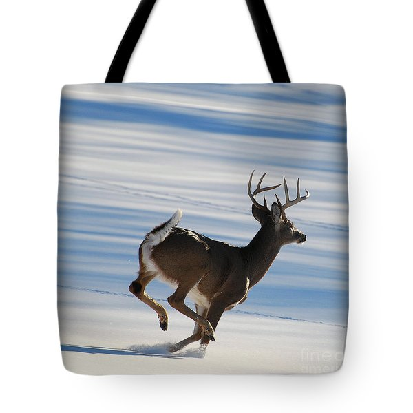 On the Run Tote Bag by Todd Hostetter