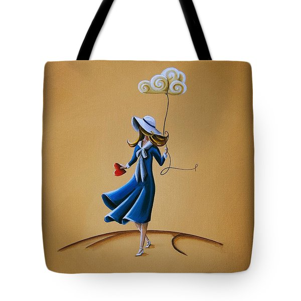 On The Street Where You Live Tote Bag by Cindy Thornton