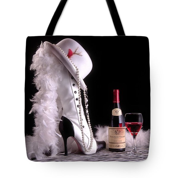 On The Town Tote Bag by Tom Mc Nemar