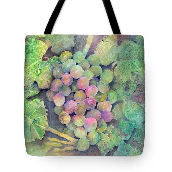 On The Vine Tote Bag by Arline Wagner