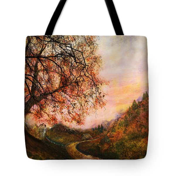 Once Upon October Tote Bag by Patricia Motley