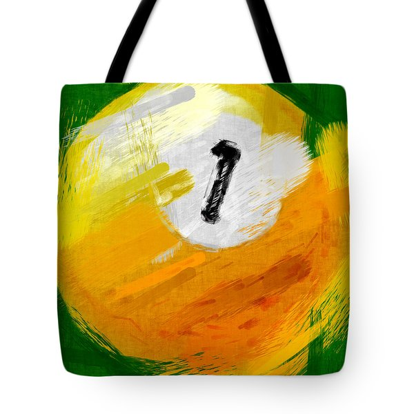 One Ball Abstract Tote Bag by David G Paul