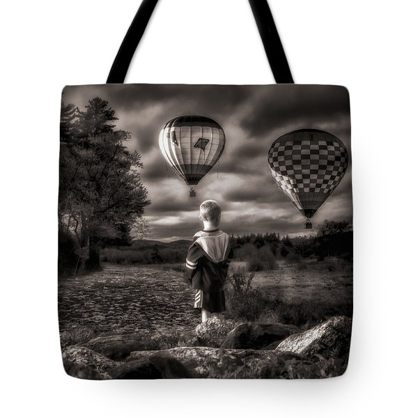 One Boys Dream Tote Bag by Bob Orsillo