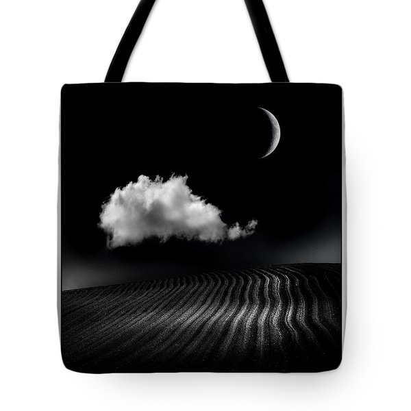 One Cloud Tote Bag by Mal Bray