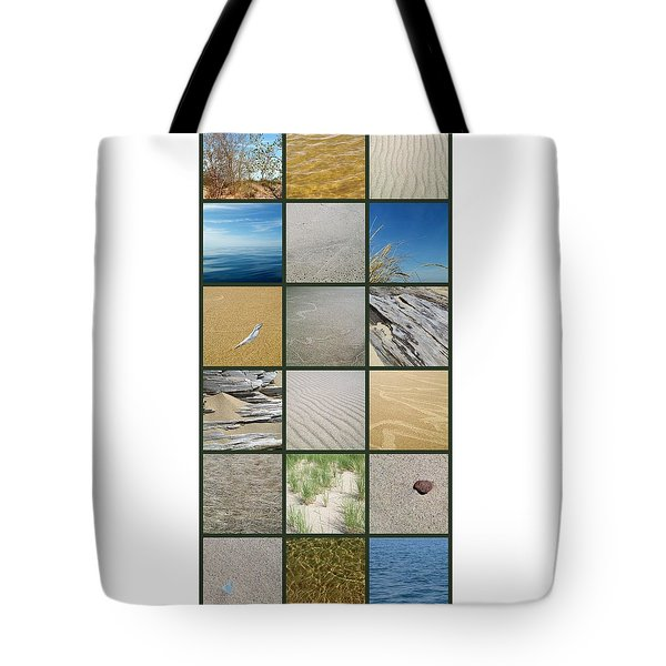 One Day At The Beach Ll Tote Bag by Michelle Calkins