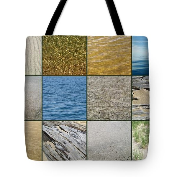 One Day at the Beach  Tote Bag by Michelle Calkins