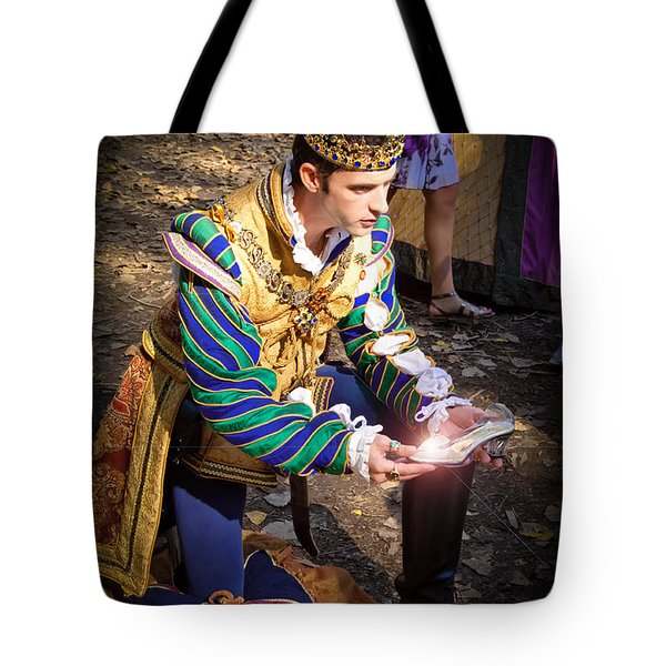 One Day My Prince Will Come Tote Bag by Andee Design