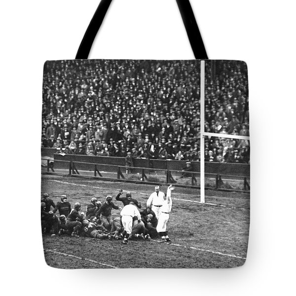 One For The Gipper Tote Bag by Underwood Archives