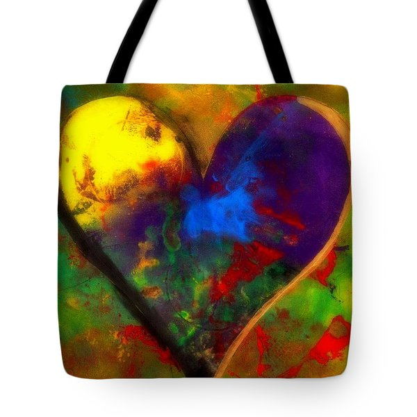One Love Tote Bag by WBK