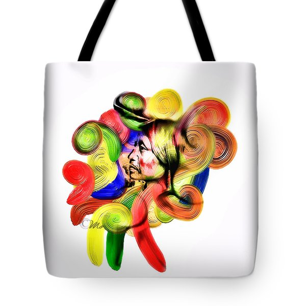 One Part 3 Tote Bag by Mo T