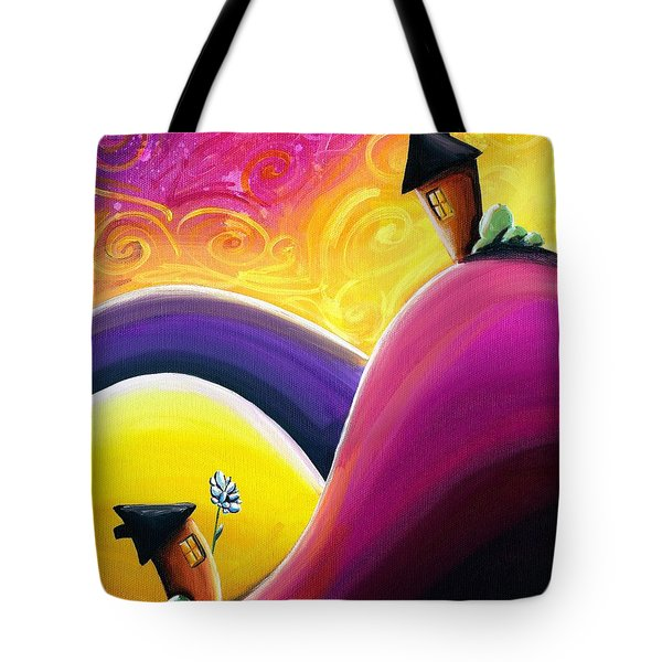 One Song Tote Bag by Cindy Thornton