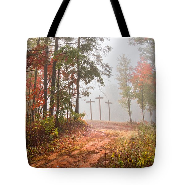One Way Tote Bag by Debra and Dave Vanderlaan