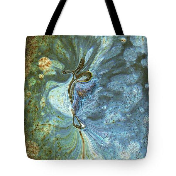 Onward Tote Bag by Linda Sannuti
