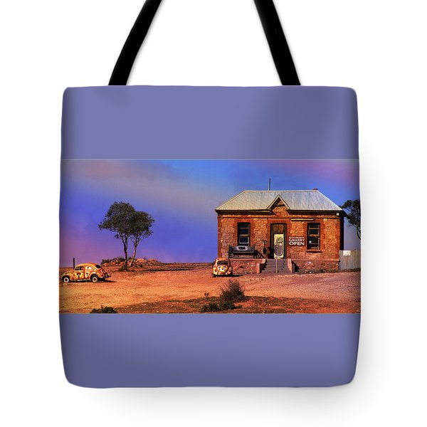 Open For Business Tote Bag by Holly Kempe