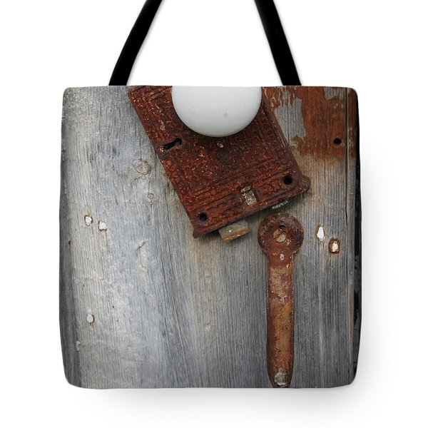 Open Up Tote Bag by Lauri Novak