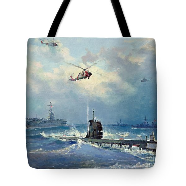 Operation Kama Tote Bag by Valentin Alexandrovich Pechatin