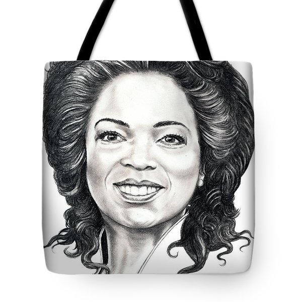 Oprah Winfrey  Tote Bag by Murphy Elliott