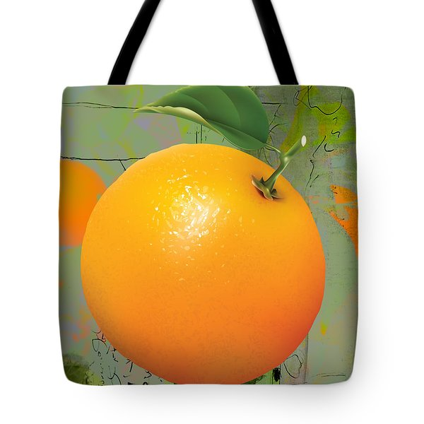 Orange Collection Tote Bag by Marvin Blaine