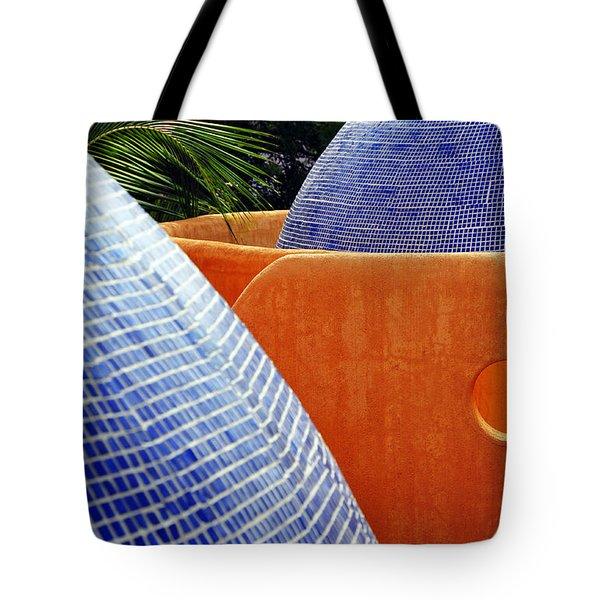 Orange Crush 3 Tote Bag by Skip Hunt