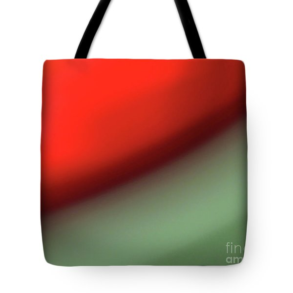Orange Red Green Tote Bag by CML Brown