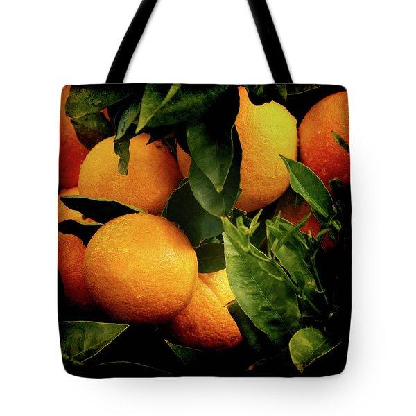 Oranges Tote Bag by Ernie Echols