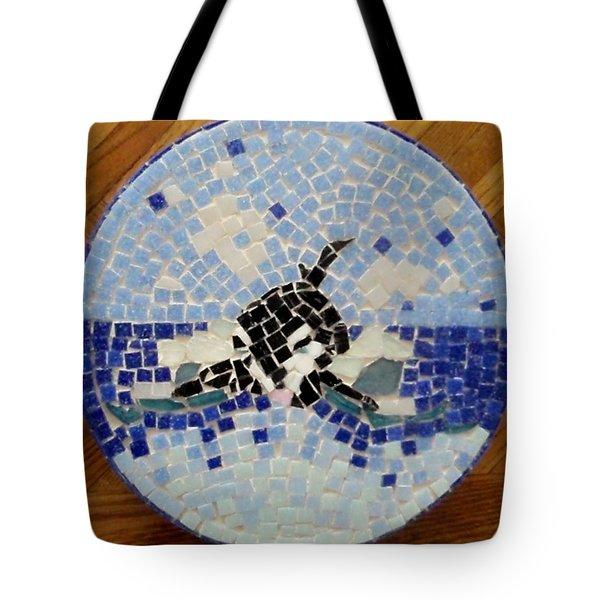 Orca Mosiac Tote Bag by Jamie Frier
