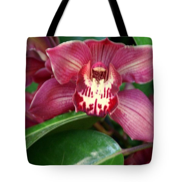 Orchid 10 Tote Bag by Marty Koch