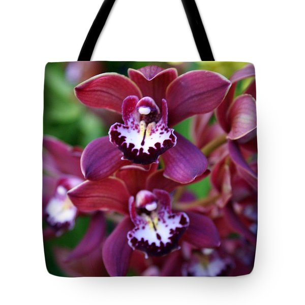 Orchid 20 Tote Bag by Marty Koch