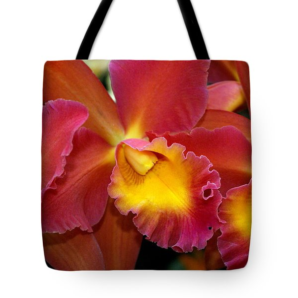 Orchid 8 Tote Bag by Marty Koch