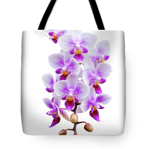 Orchid Tote Bag by Meirion Matthias