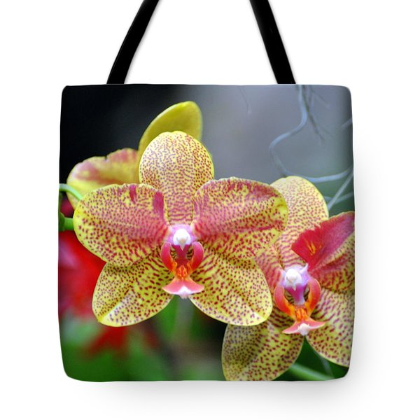 Orchids 35 Tote Bag by Marty Koch