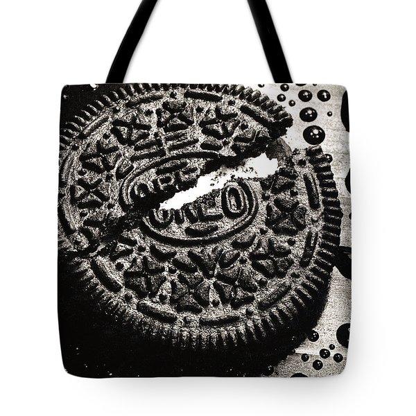 Oreo Cookie Tote Bag by Nancy Mueller