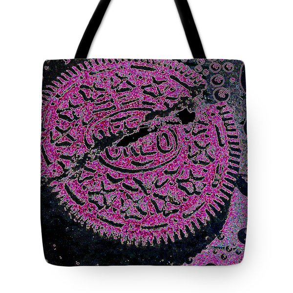 Oreo In Pink Tote Bag by Nancy Mueller