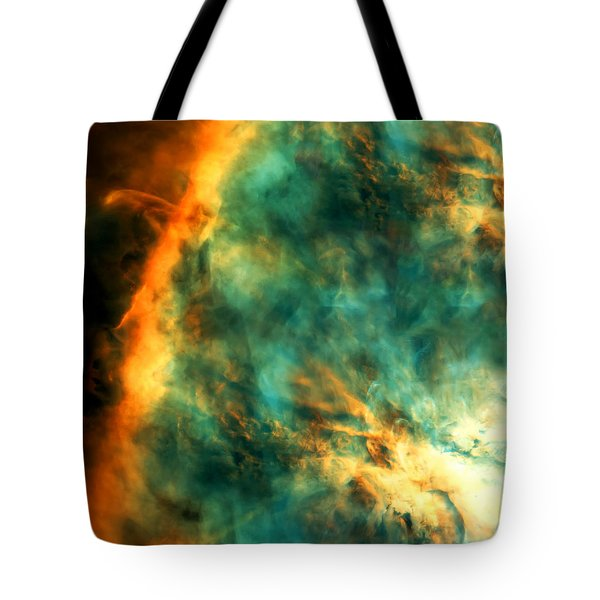 Orion Nebula Fire Sky Tote Bag by The  Vault - Jennifer Rondinelli Reilly